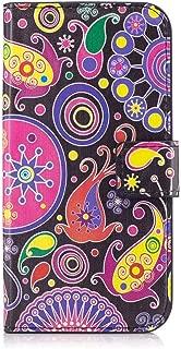 XYX Moto G Case,[Kickstand][Card Slots] Premium PU Leather Phone Wallet Case for Motorola Moto G (1st Gen) XT1032,Jellyfish