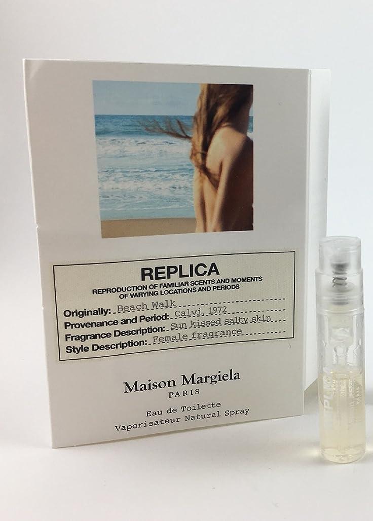 実験室ギャラントリー説明Replica - Beach Walk (レプリカ - ビーチ ウォーク) 0.05 oz/ 1.5 mL Fragrance Sample (メーカーサンプル) for Women