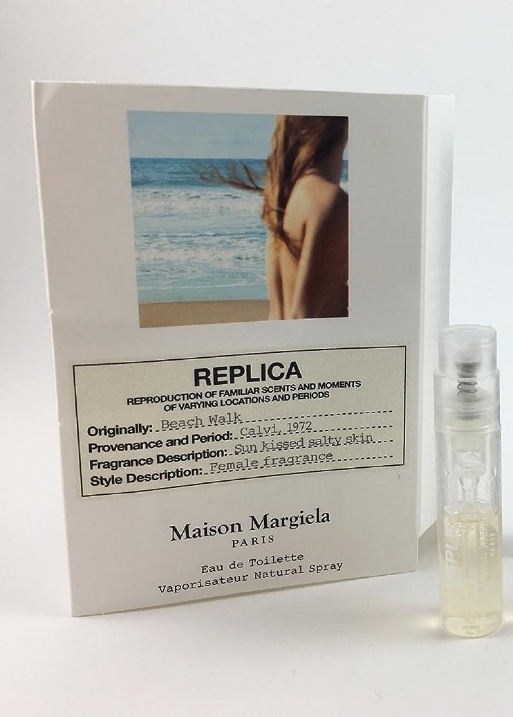 小競り合い旅行ピボットReplica - Beach Walk (レプリカ - ビーチ ウォーク) 0.05 oz/ 1.5 mL Fragrance Sample (メーカーサンプル) for Women