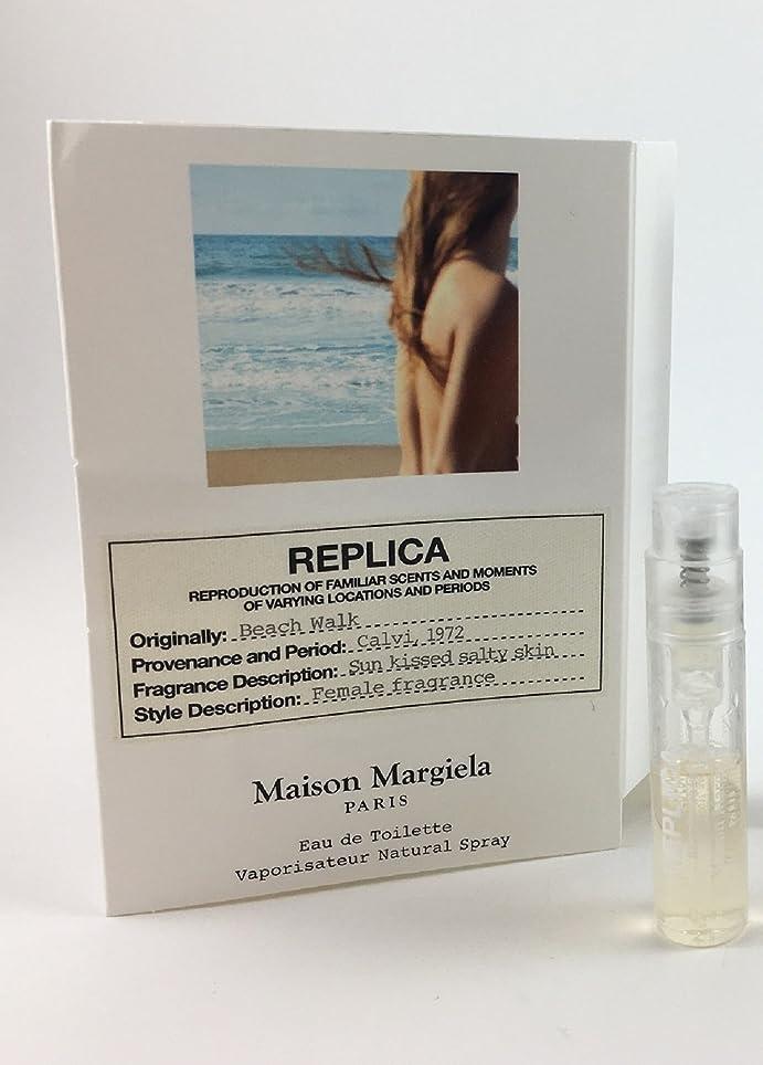 惨めなキャベツ航空会社Replica - Beach Walk (レプリカ - ビーチ ウォーク) 0.05 oz/ 1.5 mL Fragrance Sample (メーカーサンプル) for Women