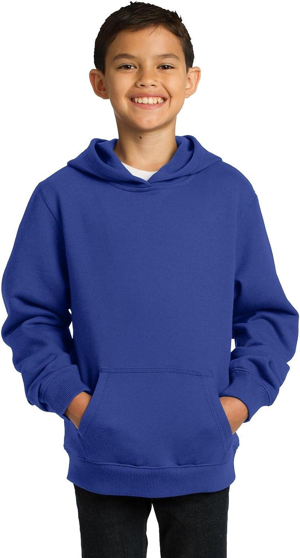 SPORT-TEK Youth Pullover Hooded Sweatshirt F20