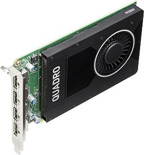 HP NVIDIA Quadro M2000 4GB Graphics Card GDDR5 - Tarjeta gráfica (Quadro M2000, 4 GB, GDDR5, 128 bit, 1920 x 1080 Pixeles, PCI Express x16 3.0)