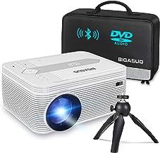 BIGASUO [2020 Upgrade] Bluetooth Full HD Projector Built...