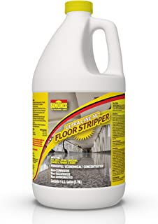 Ultimate Floor Finish & Wax Stripper Remover Non Corrosive Concentrated - 1 Gallon
