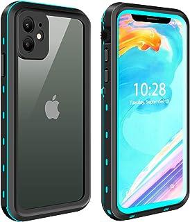 ODLICNO Funda para iPhone 11,IP68 Funda Impermeable para iPhone 11, Protección Completa de 360 Grados, Carcasa a Prueba de...