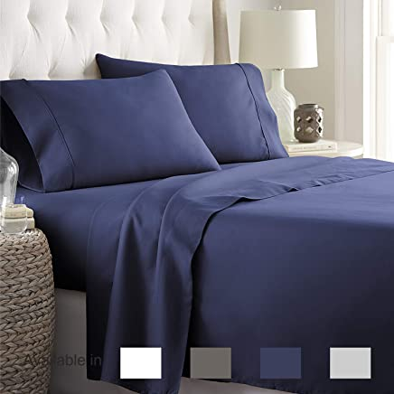 Full Sheets Extra Deep Pockets 15 Inch 500 Thread Count 4...