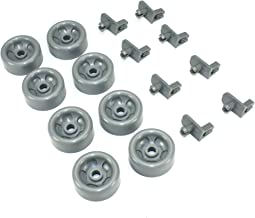 Supplying Demand WD35X21041 Dishwasher Lower Dishrack Roller Kit For GE