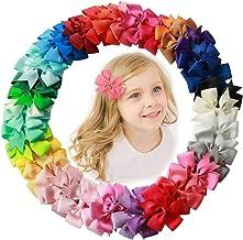 "AUTOWT Pinzas para el cabello para niñas, 3""Baby Cute"