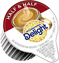 International Delight, Coffee House Inspirations Half and Half, 180 Count, Single-Serve Coffee Creamers, Shelf Stable, Great for Home Use, Offices, Parties or Group Events