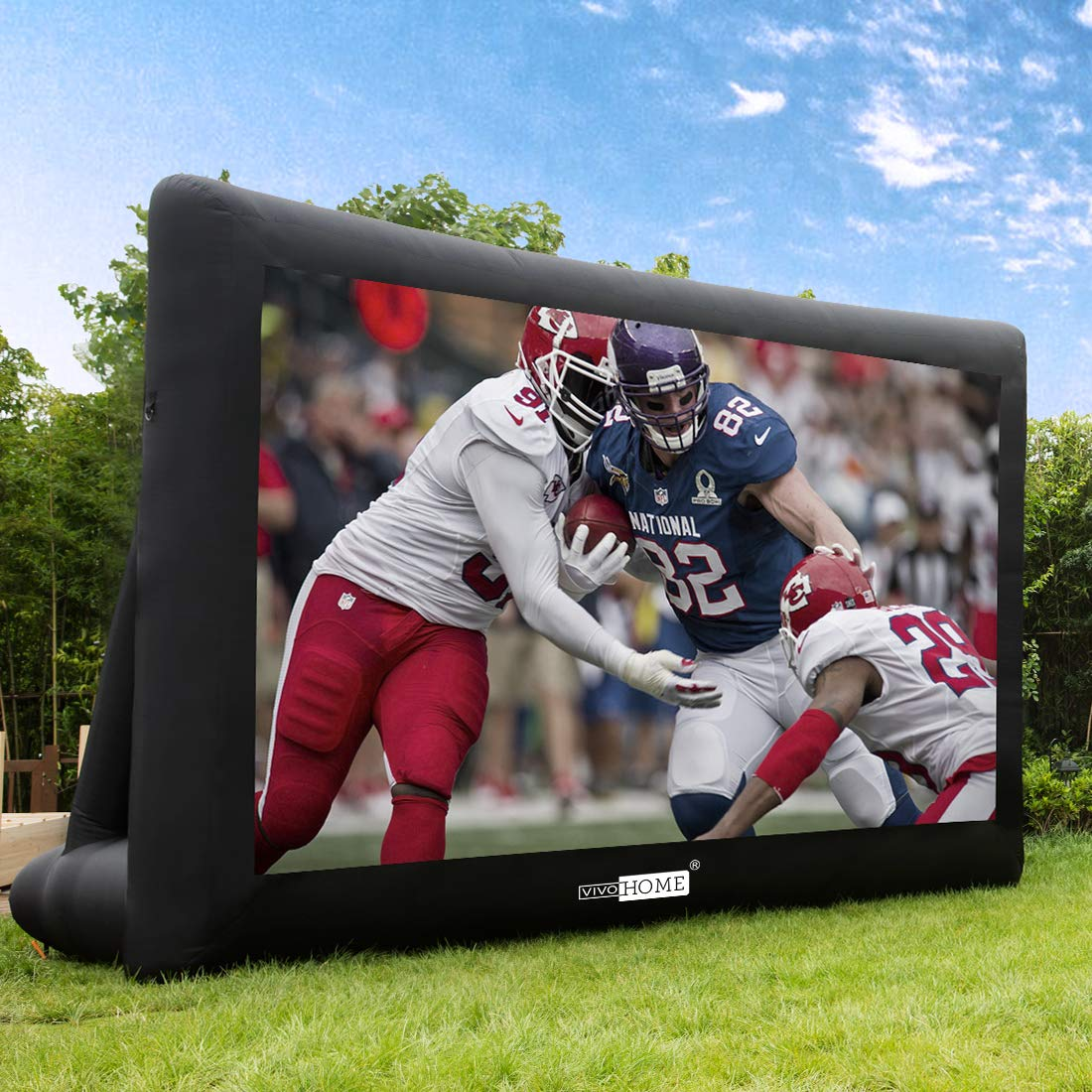 VIVOHOME Outdoor Inflatable Projector Projection