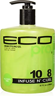 Eco Pro Infuse N' Curl Gel, 32 Ounce