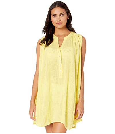 Seafolly Swing Beach Shirt Cover-Up (Limelight) Women