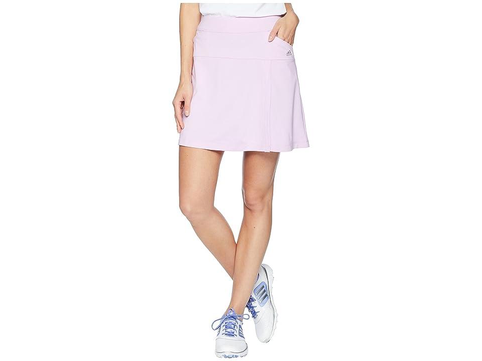 adidas Golf ClimaCool(r) Skort (Clear Lilac) Women