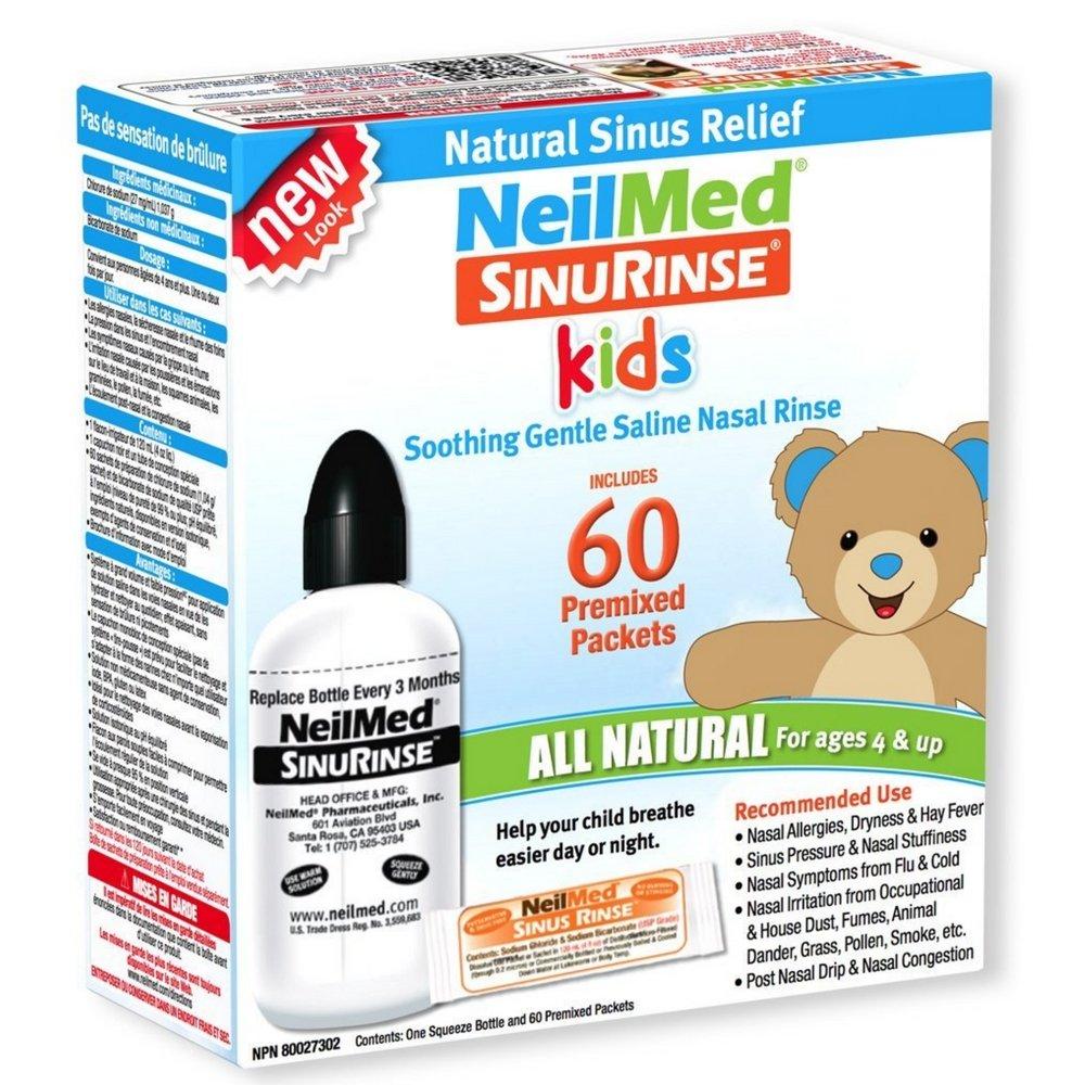 Neilmed Sinus Rinse Paediatric Kit, 1 each (Pack of 4)
