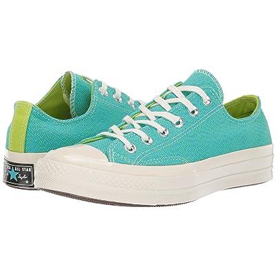 Converse Chuck 70 Ox (Gnarly Blue/Bold Lime/Egret) Women