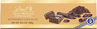 Lindt Swiss Bittersweet Chocolate Bar, 10.58-Ounces Packages (Pack of 4)