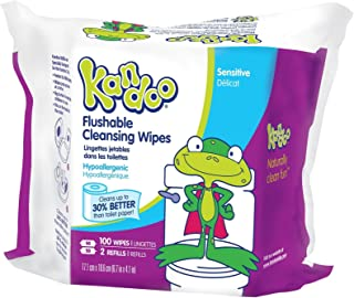 kandoo wipes flushable
