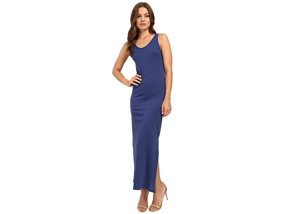 Alternative Modal Racer Midi Dress (Navy) Women