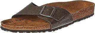Birkenstock Madrid Birko-Flor Sandal For Men (44 EU-Brown)