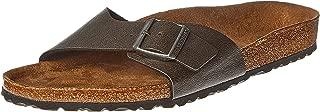 Birkenstock Madrid, Men's Fashion Sandals, Brown, 45 EU