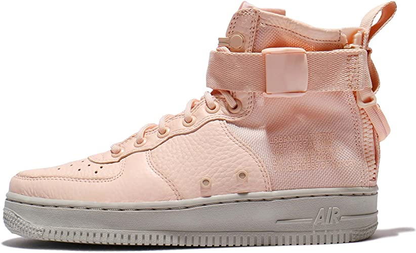 Nike Forze Speciali Air Force 1 Mid Scarpe Donna Arancione Chiaro ...