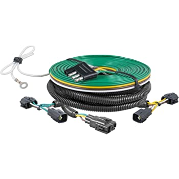 [SCHEMATICS_48ZD]  Amazon.com: CURT 58902 Custom Towed-Vehicle RV Wiring Harness for Dinghy  Towing, Select Jeep Wrangler TJ: Automotive | Custom Jeep Tj Tow Wiring |  | Amazon.com