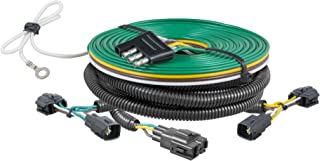 CURT 58902 Custom Towed-Vehicle RV Wiring Harness for Dinghy Towing, Fits Select Jeep Wrangler TJ