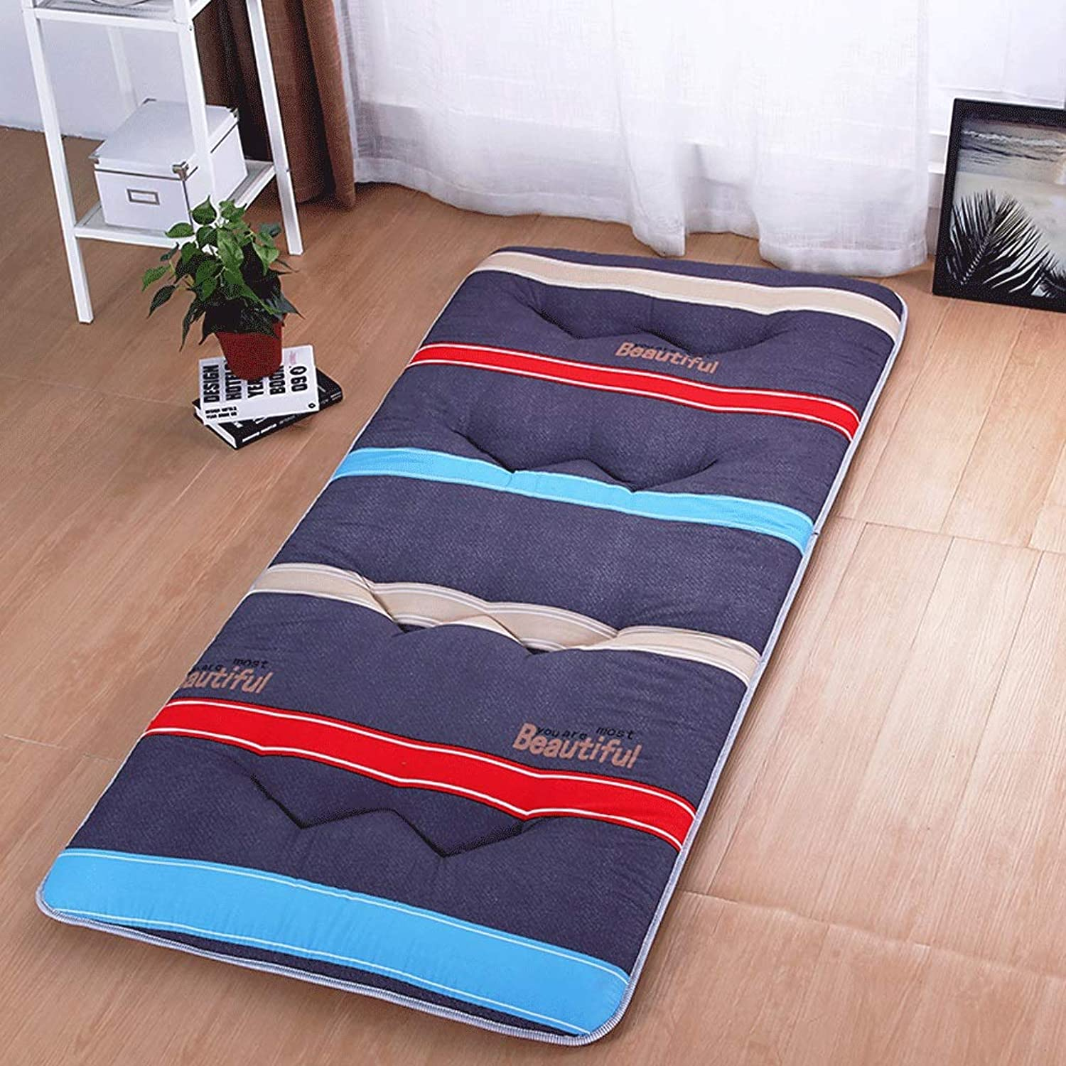 Thickened Dormitory Mattress Tatami Warm Hotel Home Foldable Mat (color   6, Size   120X200cm)
