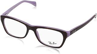 Women's RX5298 Eyeglasses Top Havana On Violet 53mm