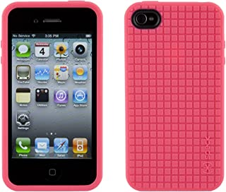 Speck Products SPK-A0013 PixelSkin HD TPU Case for iPhone 4/4S (AT&T & Verizon) - 1 Pack - Pink