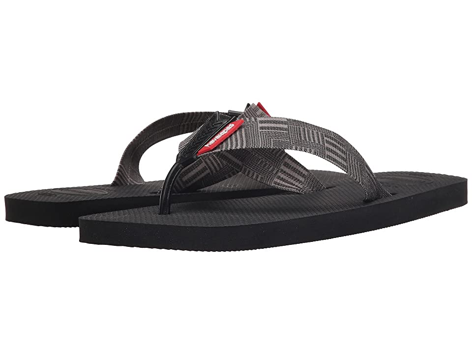 Havaianas Urban Series Flip Flops (Black) Men