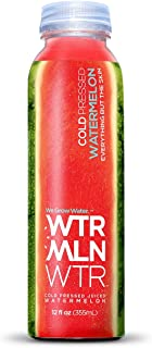 WTRMLN Cold Pressed 100% Watermelon Juice, Pulp-Free, 12 Ounce