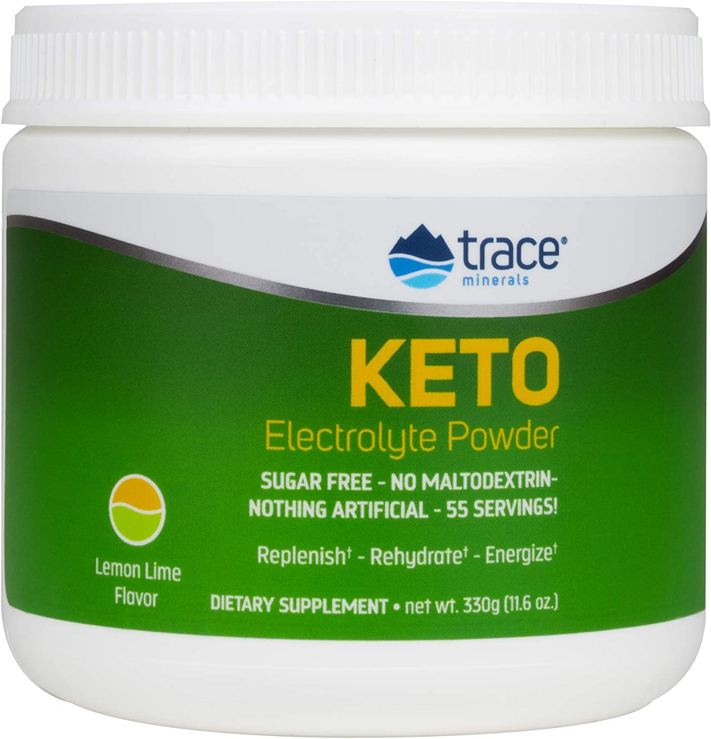 Trace Minerals Keto Electrolyte Powder Sugar Lime Free Max 76% New product!! OFF Lemon