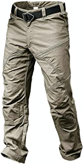 ANTARCTICA Mens Hiking Tactical Pants Lightweight Waterproof Military Army Jogger Casual Cargo Jogger Casual Trousers
