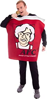 Finger Lickin' Chicken Bucket Halloween Costume – One-Size Funny Food Costumes