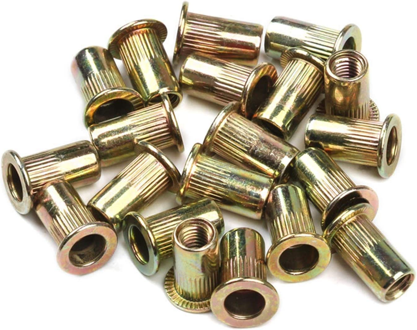 JBZD Rivet 100 Multi-Size Steel Max 80% OFF Stainless Superior Nuts