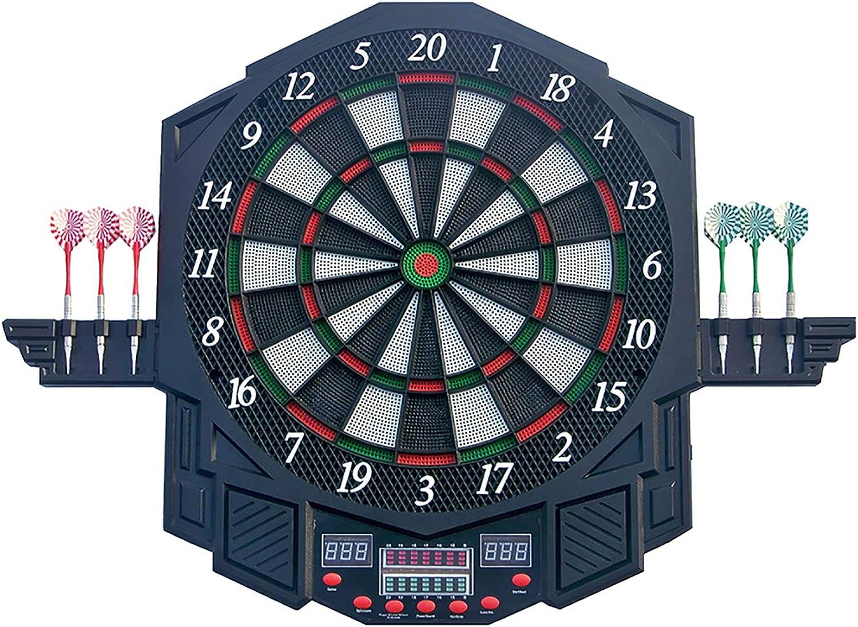 Elektronische Dartscheibe, Dartscheibe, Dartscheibe, Dartpfeile LED 27 Spielen und 216 Varianten für 8 Spieler B07JZ53453  Neuer Stil 8e154c