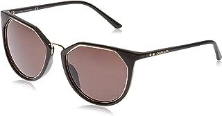 Calvin Klein Round Essentials Dark Brown Sunglasses-54