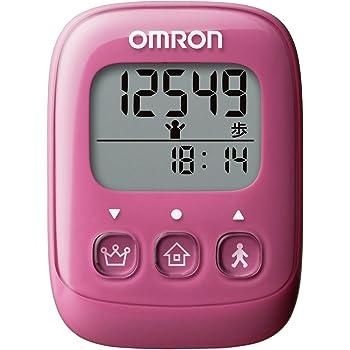 オムロン(OMRON) 歩数計 ピンク HJ-325-PK