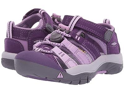 Keen Kids Newport H2 (Toddler/Little Kid) (Majesty/Lupine) Girls Shoes