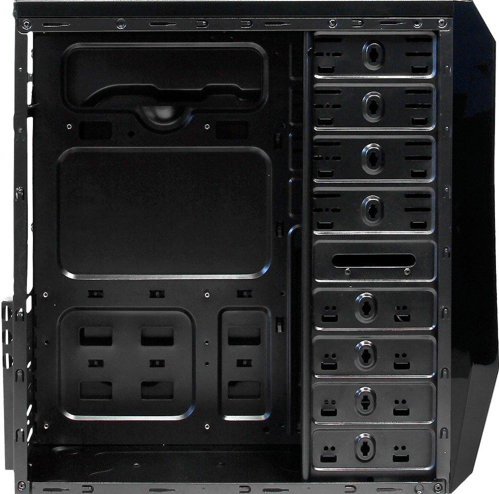 Tacens Mars Gaming - Caja de Ordenador de sobremesa (ATX, microATX, USB), Negro: Amazon.es: Informática
