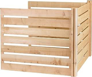 Greenes Fence RCCOMP48ADK Cedar Wood Composter Add-On Kit, 48