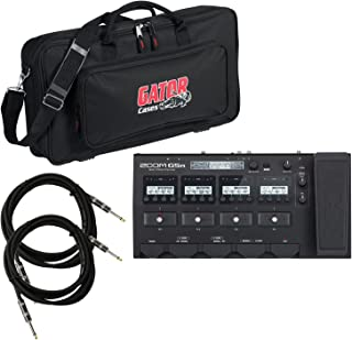 Zoom G5n Multi Effects Processor Floorboard w/ Gig Bag and Cables