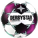 Derbystar Unisex– Erwachsene Bundesliga Brillant APS Fußball, Weiss Magenta