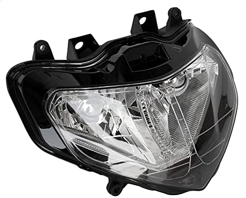 wholesale Mallofusa Motorcycle Headlight Headlamp Assembly outlet sale Compatible for Suzuki GSXR600 GSXR750 GSXR1000 K1 online K2 2001 2002 2003 sale