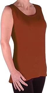 Virginia Womens Cami Top Ladies Plus Size Long Camisole Vest