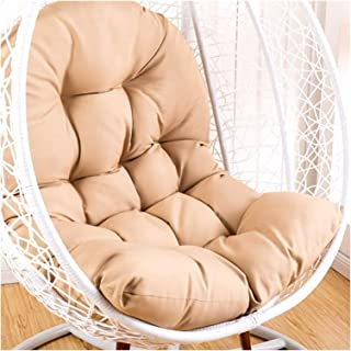 Egg Cushions for Patio Chairs Garden Furniture Hanging Egg Hammock Chair Cushion Without Stand Waterproof Patio Swing Chai...