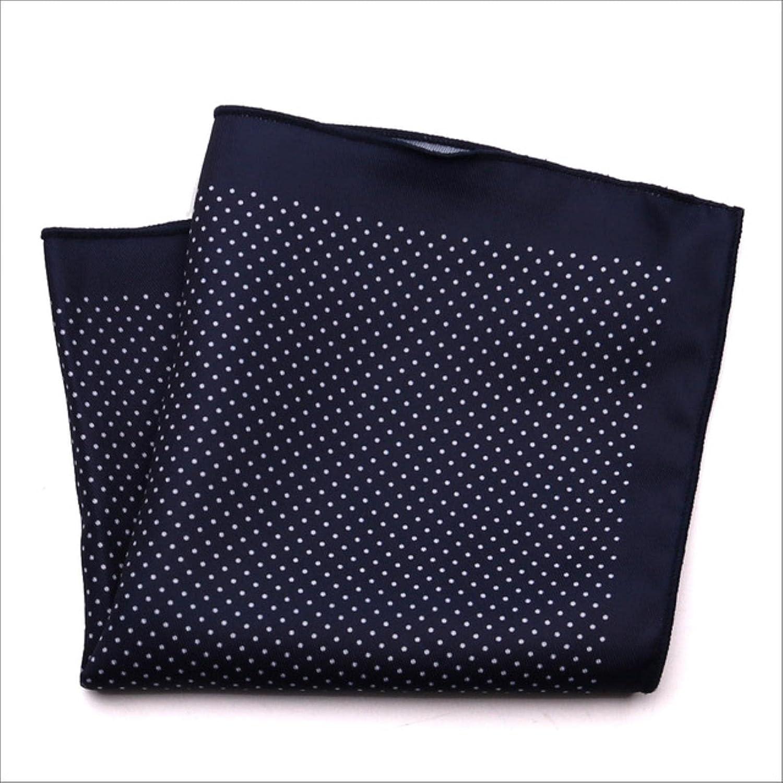 HJJACS Fashion Mens Pocket Square Handkerchief Dot Chest Hankies for Wedding Men's Suit Hanky Chest Towel