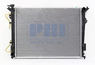 Go-Parts - OE Replacement for 2008 - 2010 Hyundai Sonata Radiator - (2.4L L4 Automatic Transmission) 25310-0A180 HY3010193 Replacement For Hyundai Sonata