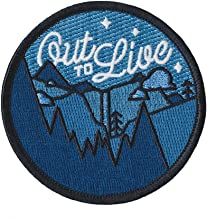 Asilda Store Embroidered Sew or Iron-on Patch (Out to Live)